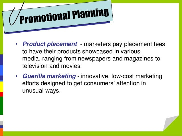 promotion and pricing strategies Understand your product costs before setting prices, then check the competition and test various strategies to price your products for maximum profit.