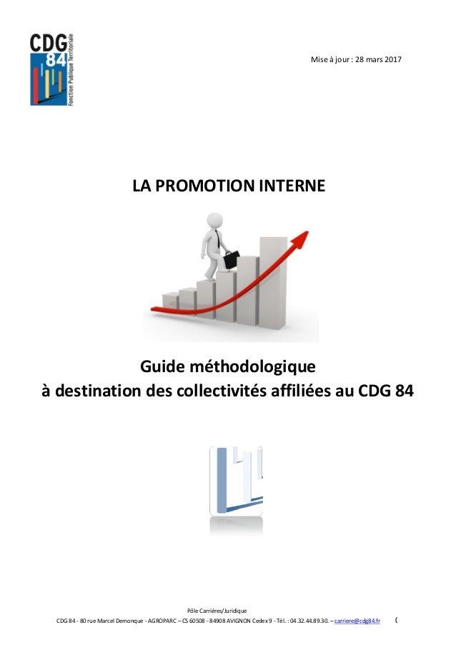 Promotion Interne Doc Cdg 84