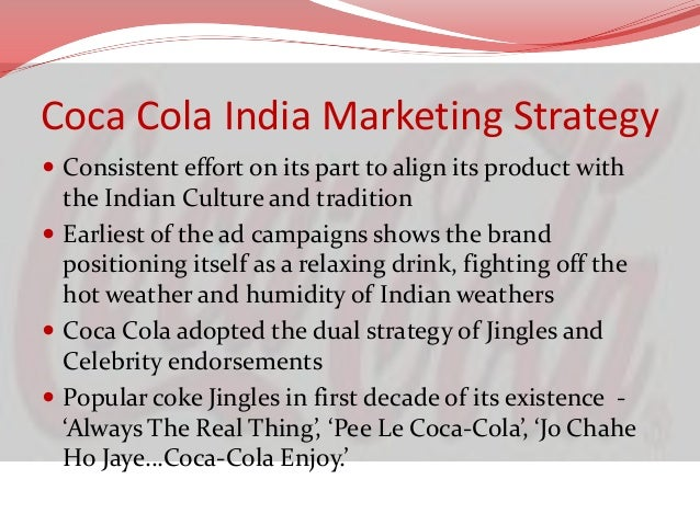 a critique of the coca colas company marketing plan Coca-cola's fairlife milk, is launching in early 2015 it's being advertised as purely nutritious super milk but is it really.