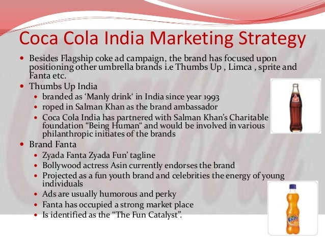 marketing mix of fanta The coca-cola company's distribution strategy of only coke's product such as fanta channel as a marketing strategy to bridge the demand.