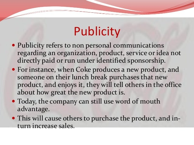 Coca Cola Market PositioningSustainable Community Model  Projects itself as a brand which wants to grow along with the so...