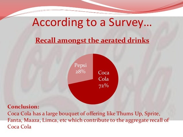 Deductions  Coke has a high brand recall  Coke should not move away from a brand ambassador  in India  Aamir Khan is a ...