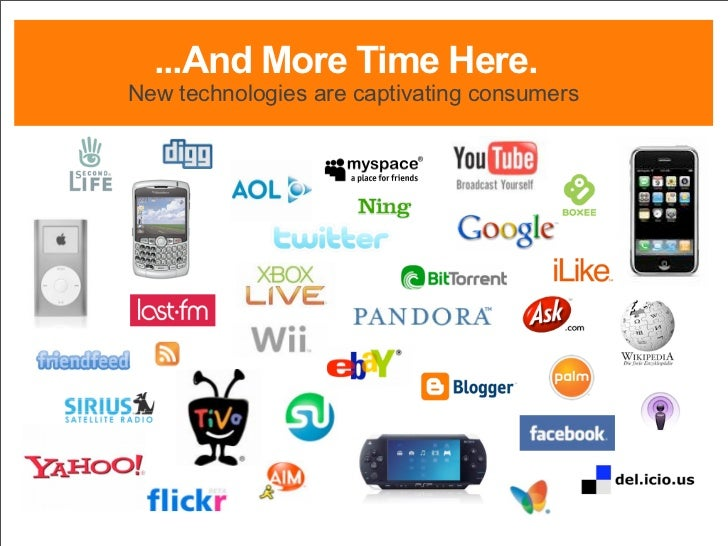 ...And More Time Here. New technologies are captivating consumers