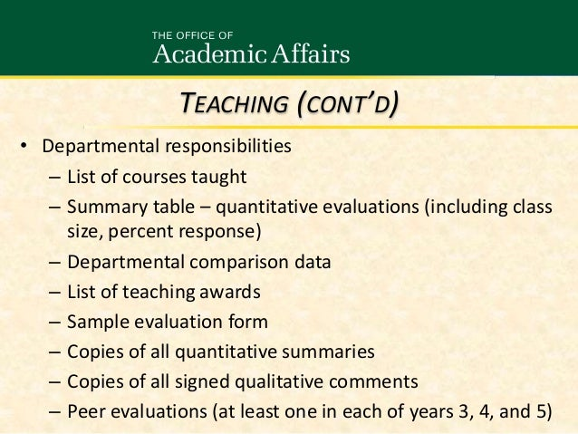 P&T for Tenure Track Faculty Who Will Undergo Review 11/11/14