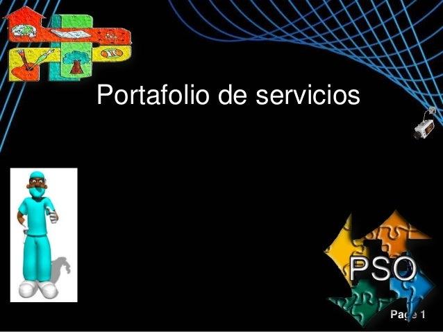 Portafolio de servicios  Page 1