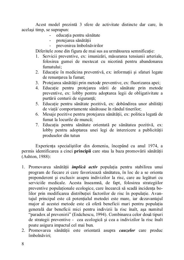 Educatie pentru sanatate prescolari referat