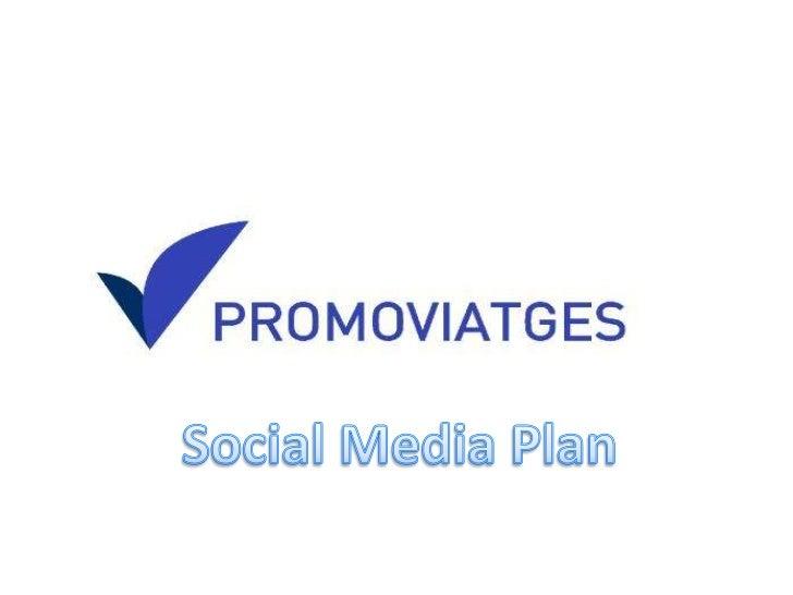 PROMOVIATGES Social Media Plan