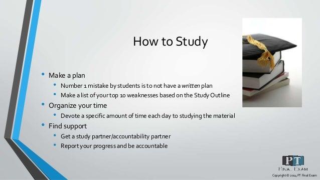 Npte study plan