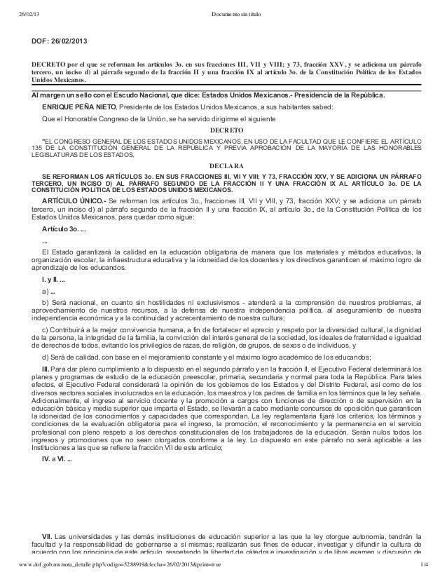 26/02/13 Documento sin título www.dof.gob.mx/nota_detalle.php?codigo=5288919&fecha=26/02/2013&print=true 1/4  DOF:26/02/...
