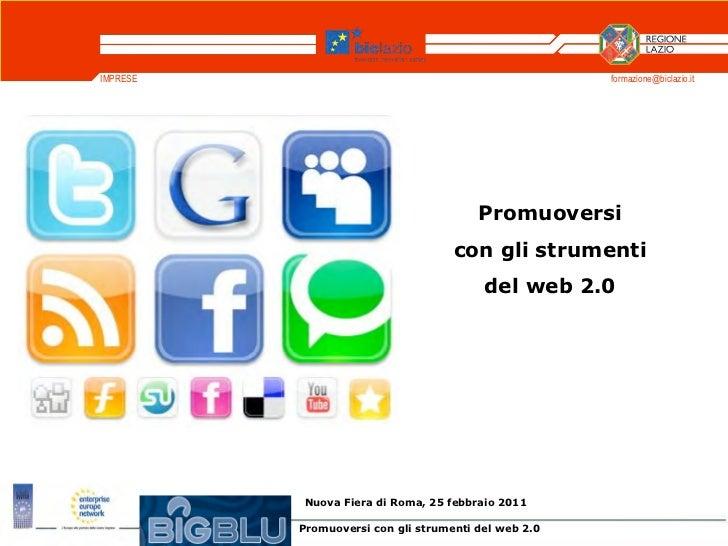 IMPRESE                                               formazione@biclazio.it                                        Promuo...
