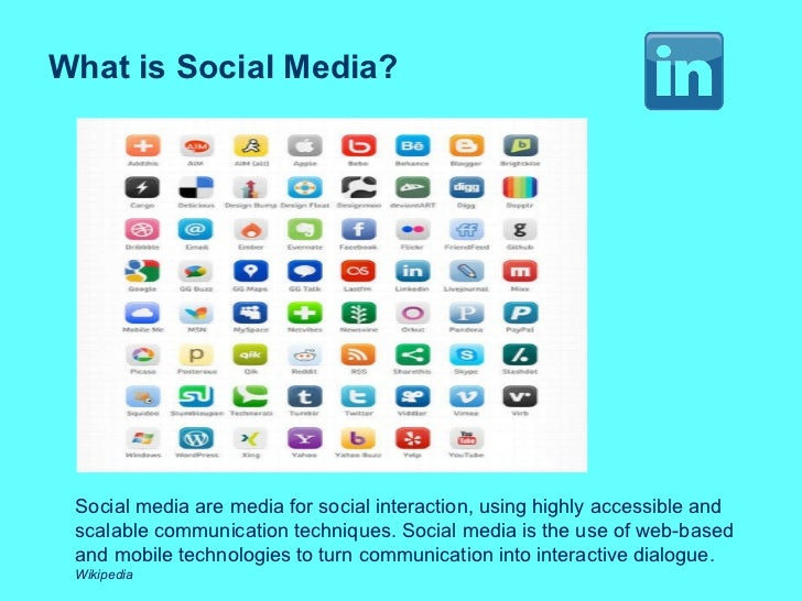 What is Social Media? Social media are media for social interaction, using highly accessible and scalable communication te...