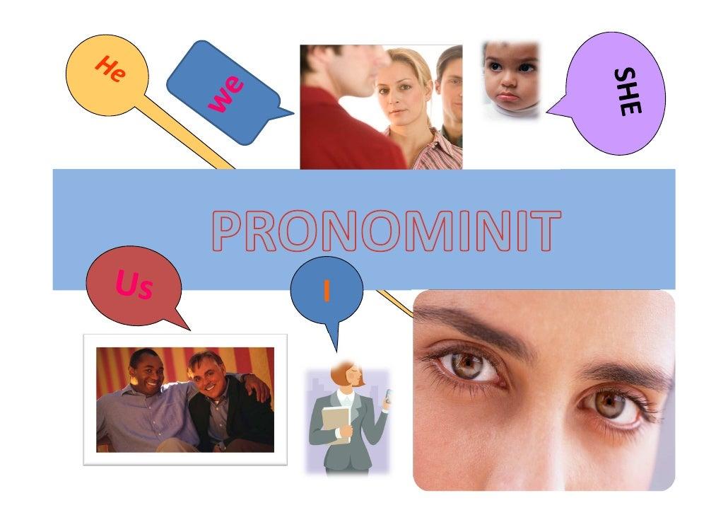 Englannin Pronominit