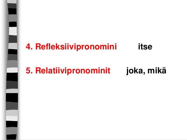 Relatiivipronominit