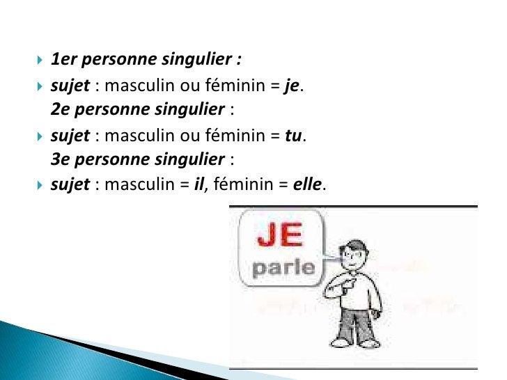    1er personne du pluriel :   - masculin ou féminin= nous.   2e personne du pluriel :   - masculin ou féminin, = vous...