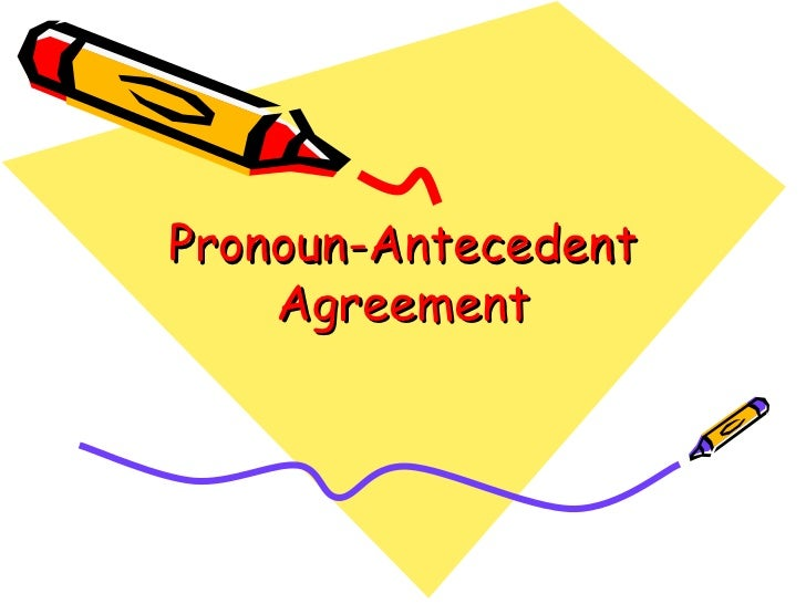Pronountecedent
