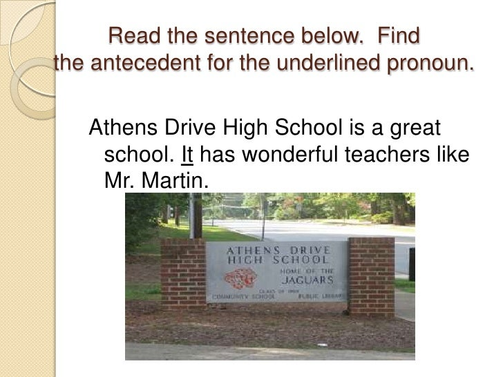 centipede pronoun antecedent Pronouns are demanding little words in order to be correct, they must agree with the noun or pronoun they refer to, called the antecedent a pronoun must agree in.