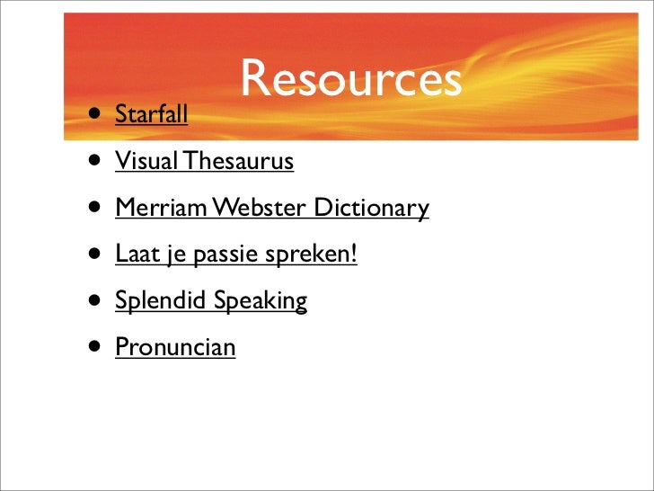 Pronunciation, pronunciation