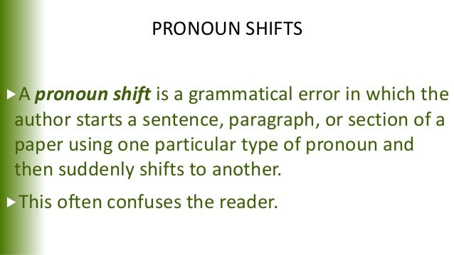 using one as a pronoun in an essay Essay writing conciseness  a new look for the purdue owl  indefinite pronouns using the masculine pronouns to refer to an indefinite pronoun.