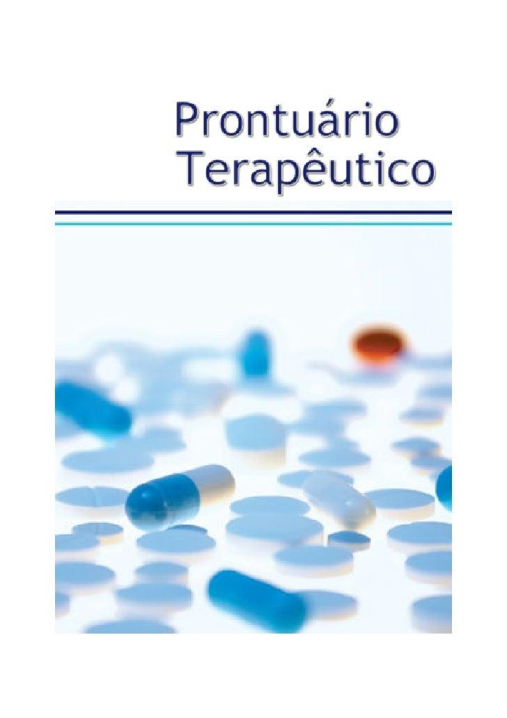 Prontuario Terapeutico