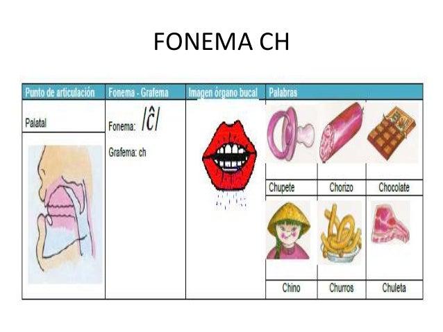 Pronunciación de fonemas 2