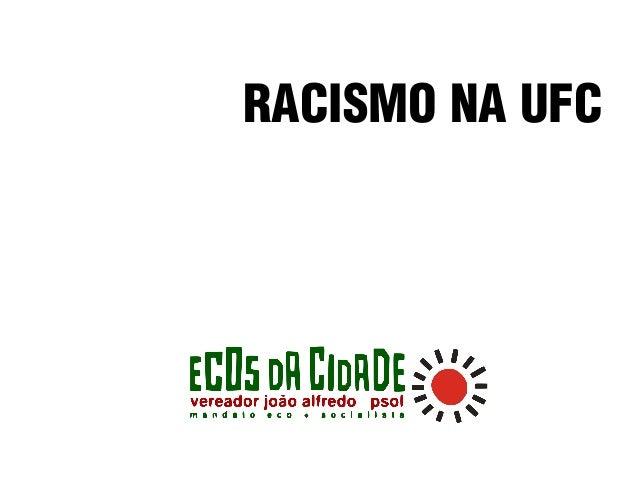 RACISMO NA UFC