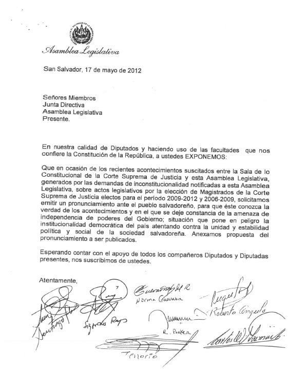 Pronunciamiento FMLN sobre CSJ