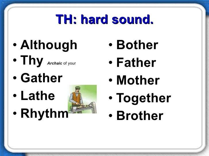 TH Pronunciation – Th Sound Worksheets