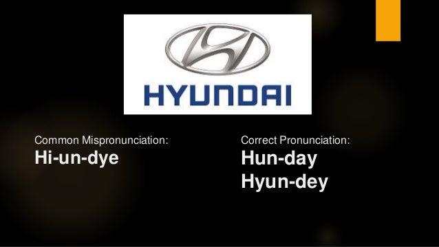 Correct Pronunciation of Common Brand Names