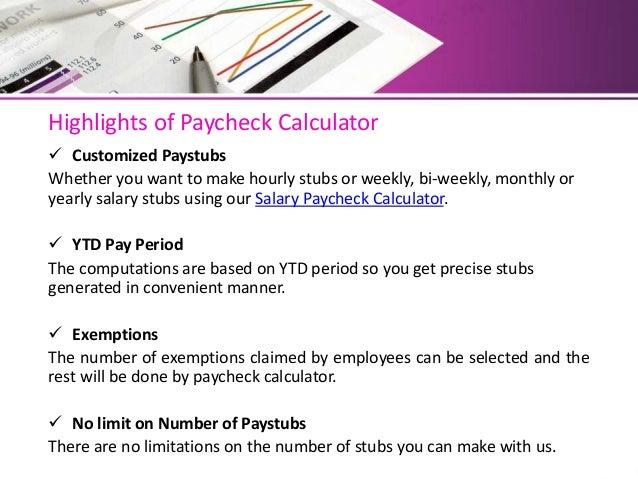 pay stubs calculator