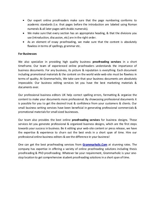 Phd proofreading sites ca resume creator software review