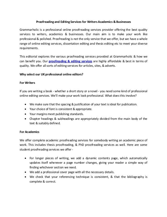 Essays About Business Essay Proofreading Service Political Science Essay also English Essay On Terrorism Essay Proofreading Service  English Proofreading  Editing Service Example Essay Papers