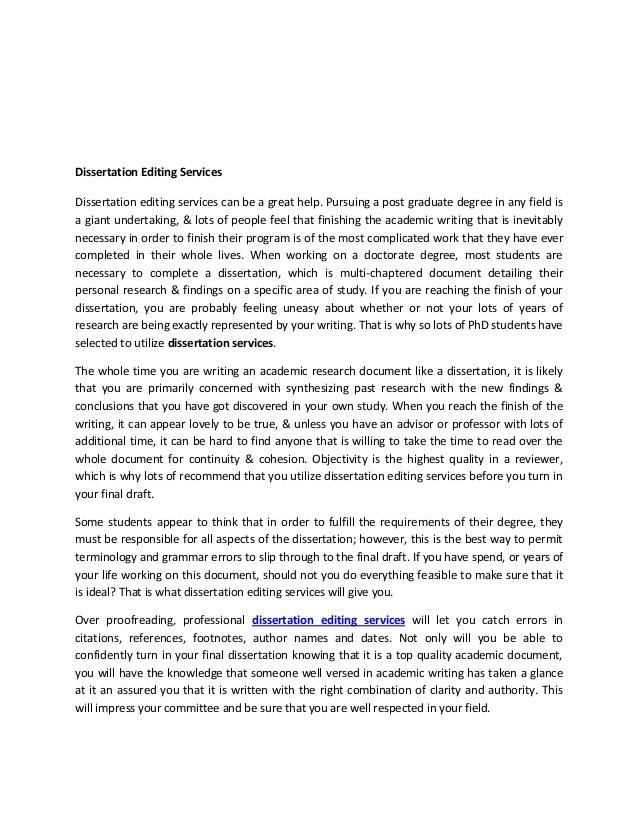 Essay editing services uk