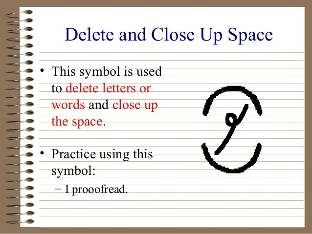 Proofreading Marks and How to Use Them--Grammar Tutorial