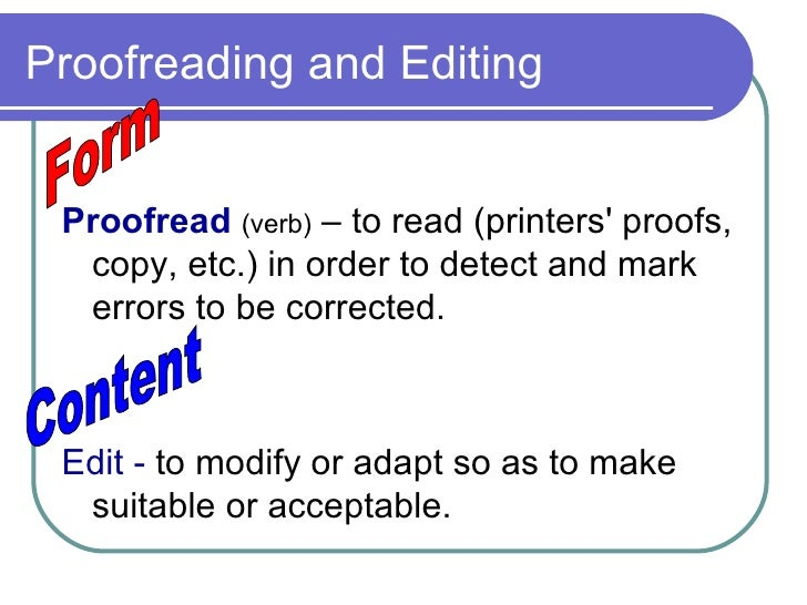 English In Italian: Proofread And Edit