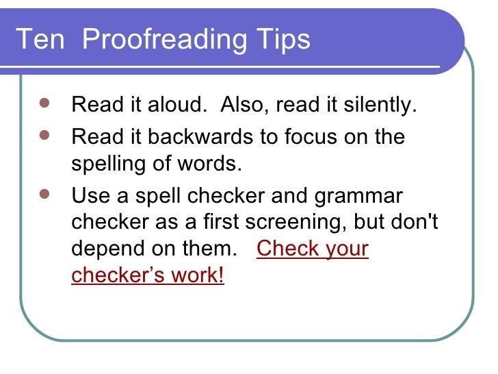 Online proofreading and editing between