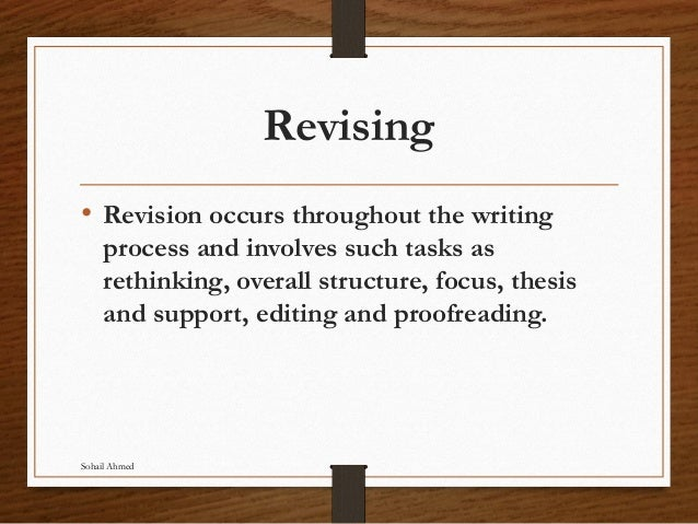 Proof reading, editing and revising by sohail ahmed Slide 2