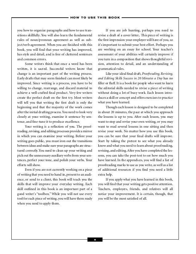 Online proofreading test