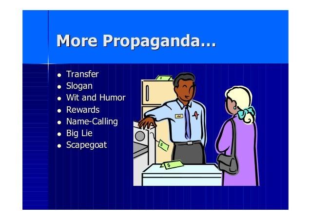 Propaganda Lesson Slide 3