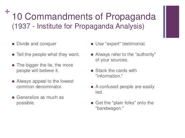 An Analysis of the Ten Commandments