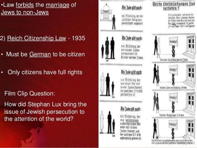 Propaganda and Nuremberg Laws