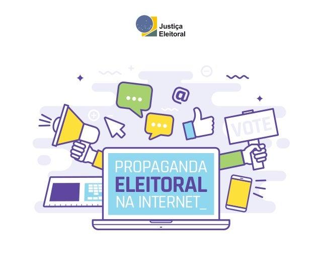 VOTE PROPAGANDA ELEITORAL NA INTERNET_ @
