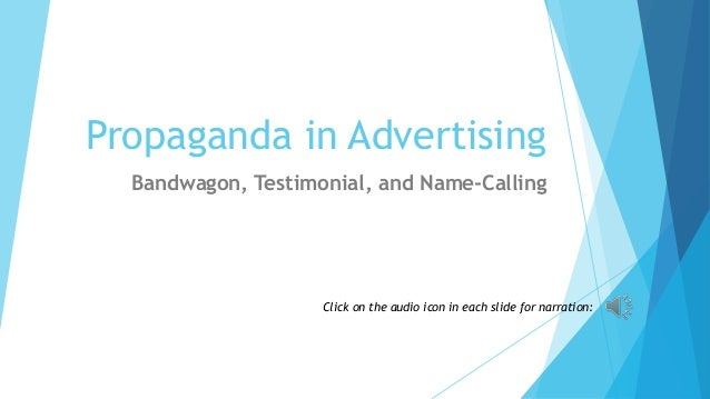 Name Calling Advertising