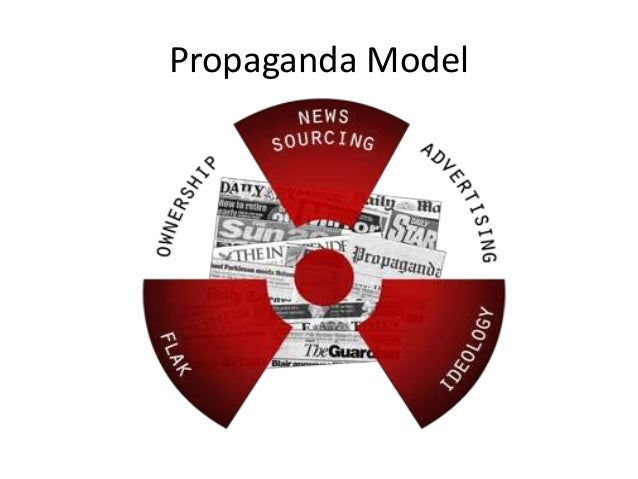 the propaganda model of the media Corporations are more than willing to pay a lot of money to control the voice of the media chomsky's propaganda model: collective evolution.
