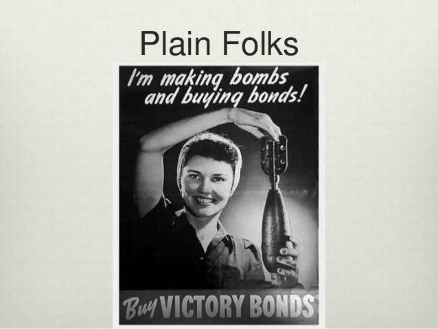 Examples Of Plain Folks Propaganda Propaganda techniques ...