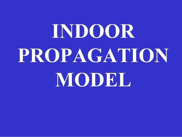 Propagation Models