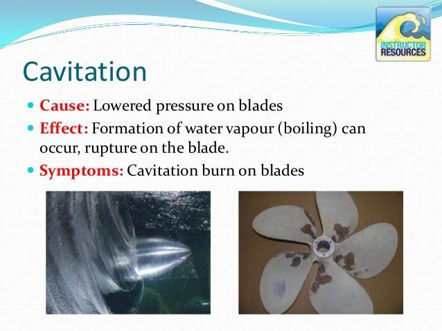 Propeller Ventilation & Cavitation - the basics