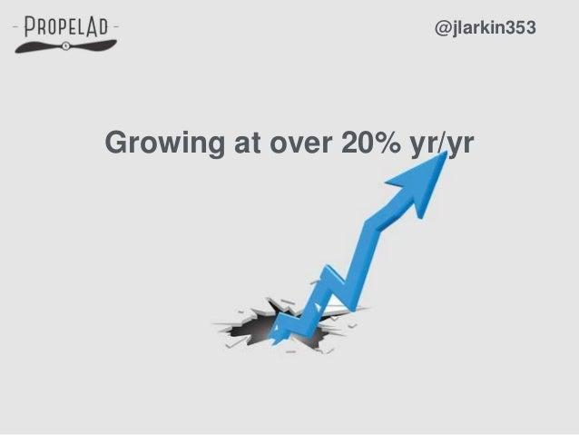 Growing at over 20% yr/yr @jlarkin353