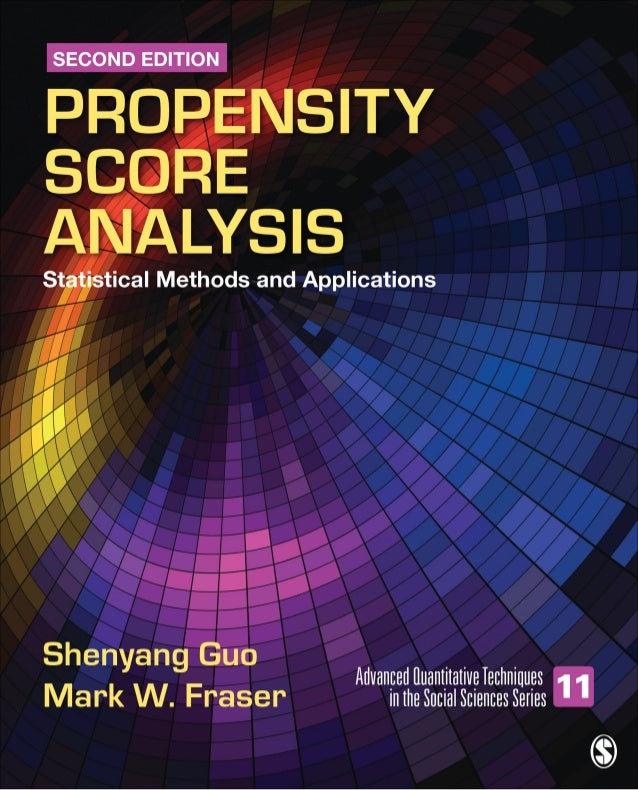 Propensity score analysis__