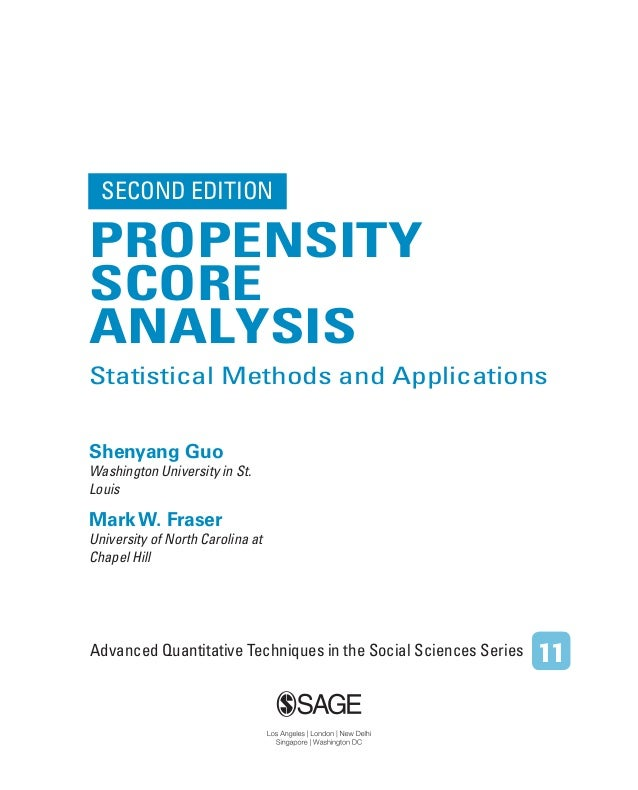 social sciences search tips for quantitative studies propensity score analysis statistical methods and 8544