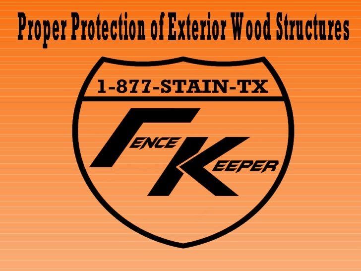 Proper Protection of Exterior Wood Structures